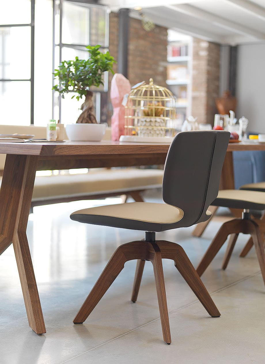 csm team7 aye stuhl mit drehgestell produktbeschreibung. Black Bedroom Furniture Sets. Home Design Ideas